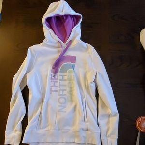 North face hooded sweatshirt  EUC